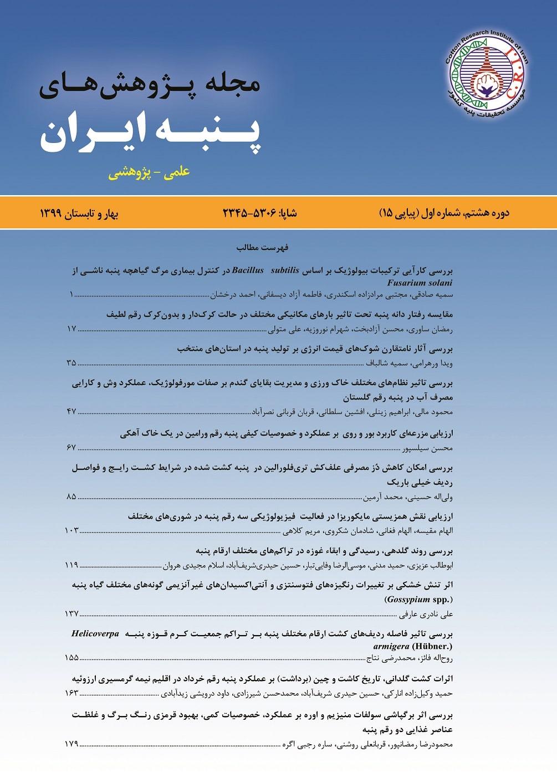 پژوهش های پنبه ایران